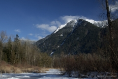 Mt. Cheam in Winter